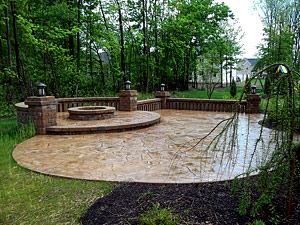 Stamped Concrete Design Ideas fair stamped concrete patio designs for your home decorating ideas concrete patio design ideas Pattern Stamped Concrete